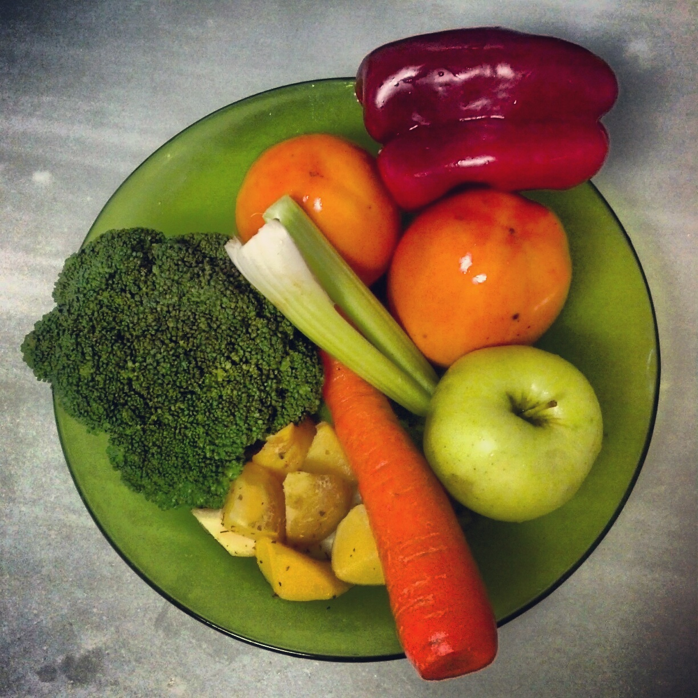 Comerlapaleodieta desayuno brocoli pimiento caqui for Envueltos de coliflor con zanahoria para enfermedades inflamatorias