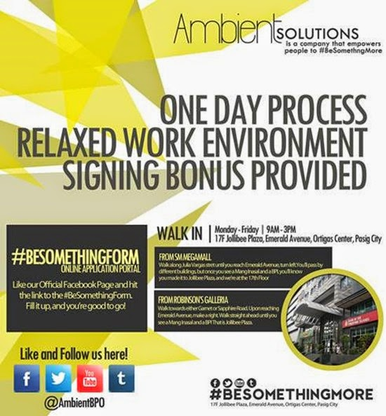 Ambient Solutions BPO