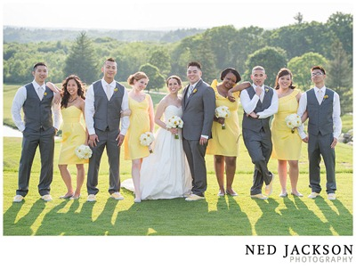 White and Yellow Wedding - Ideas in Bloom, Ned Jackson Photography