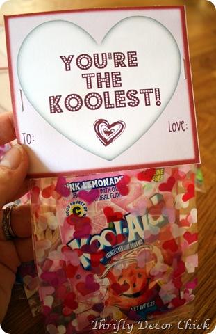 Easy Kool-Aid Valentine