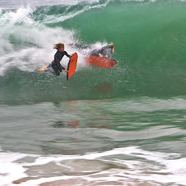 FAST by Patrick Flood - Sports & Fitness Surfing ( canon, photosbyflood, boogie boards, orange county, california, newport beach, big waves, the wedge )