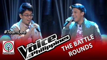 The Voice PH 2 Battles - Philippe vs Timmy