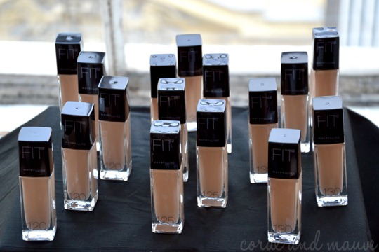 Maybelline FIT ME Pressekonferenz Wien Helle Foundations