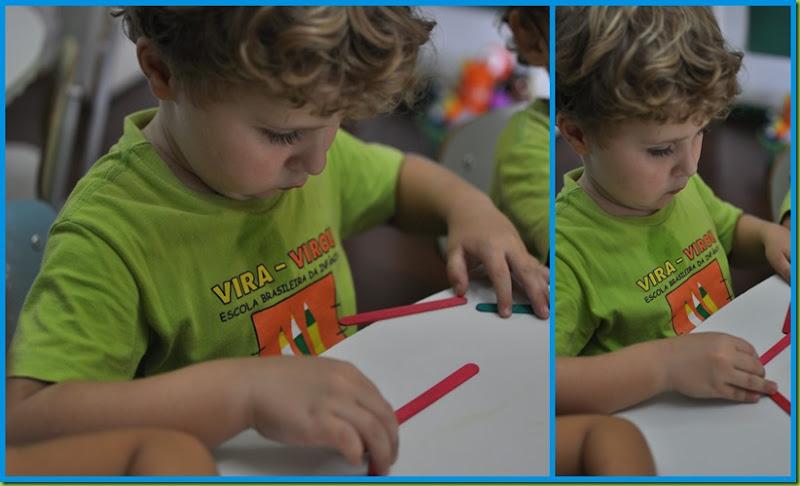 Infantil 3 manhã - Palitos11