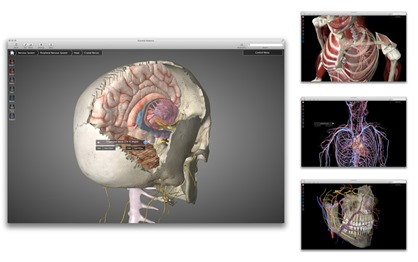 3D Anatomy Medical App