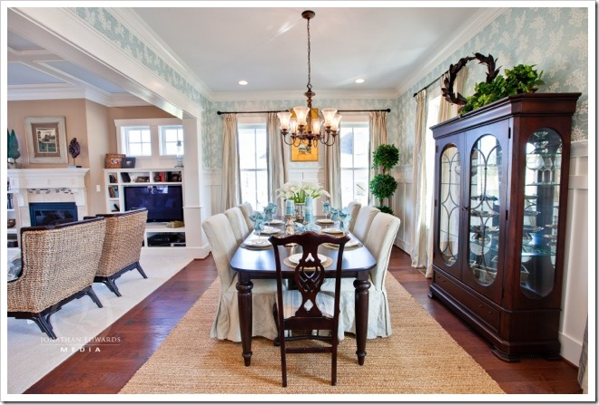 Dining Room -Decorating a Dream Home - www.sandandsisal.com42