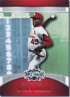 2010 Triple Threads Gibson 986 of 1350