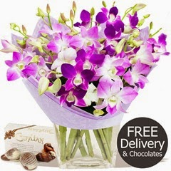 FREE DELIVERY Mothers Day Flowers - Worlds Best Mum & Chocolates (Mothers Day Range)