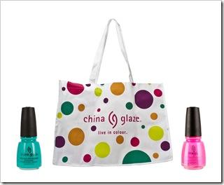chinna glaze- מבצע קיץ- תיק במתנה בקניה של שני לקים. צילום דיוויד שין