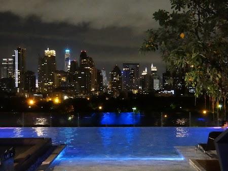 Spa Thailanda: Infinity pool