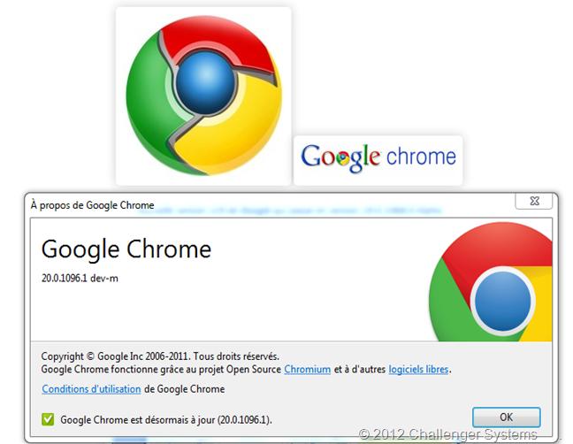 Google Chrome v20
