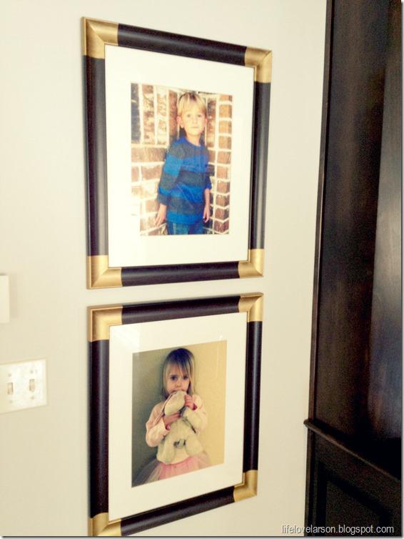 gold corner frame 6