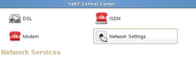 SUSE HANA VM network settings