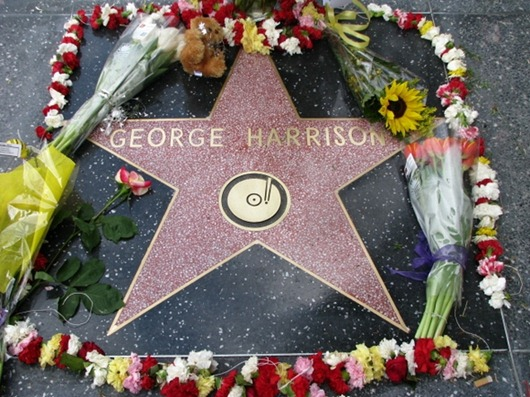 george_harrison_hollywood_star