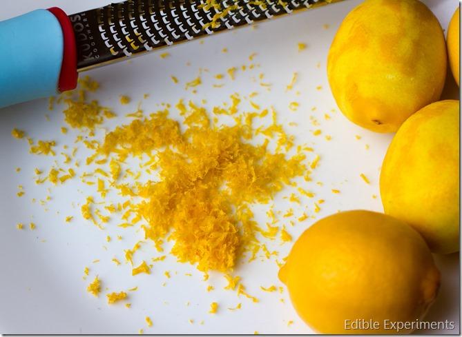 Meyer Lemon and Raspberry Crepe Cake