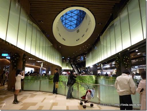 京站時尚廣場-圓頂+植被牆