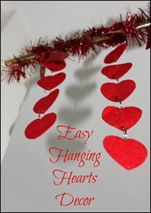 Many Waters Easy Hanging Hearts Decor