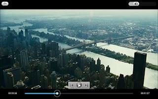 Screenshot of PowerDVD Mobile v3