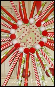 pixie stick wreath-up close3
