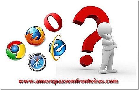 navegadores e comentários