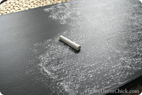 seasoning chalkboard