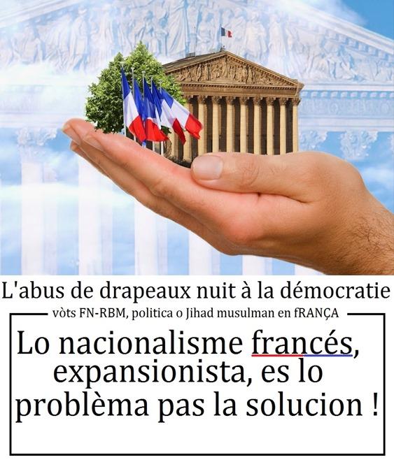 République française 17 elle nuit avec ses drapeaux