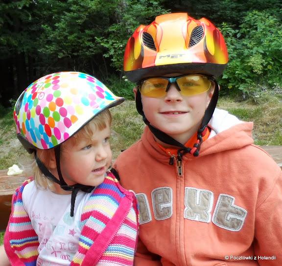 Zosieńka i Pawełek gotowi do drogi