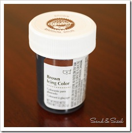 Wilton Cor Icing Brown