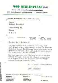 Berlinplast GmbH Ende