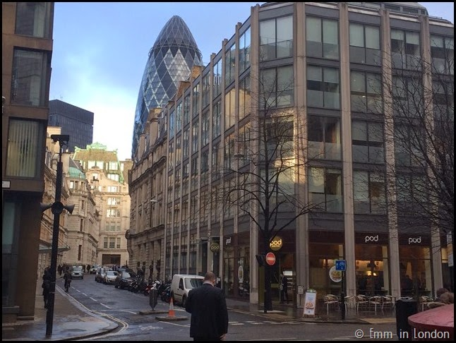 30 St Mary Axe from Febchurch Street