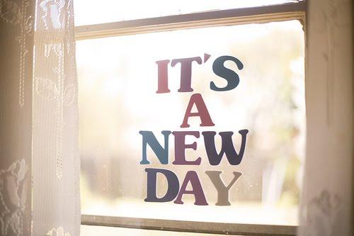 新的一天要来了