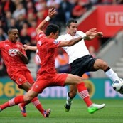 Hasil Southampton vs Manchester United