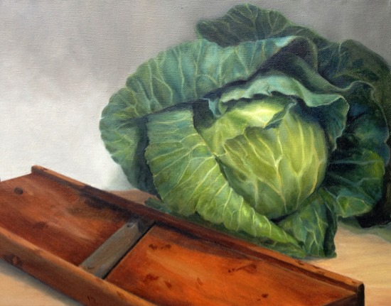 cutting cabbage dorothy lorenze