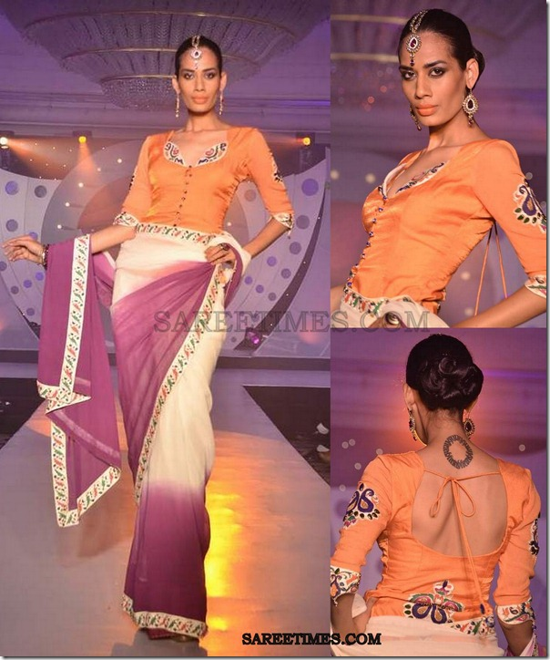white_saree_sndt_fashionshow