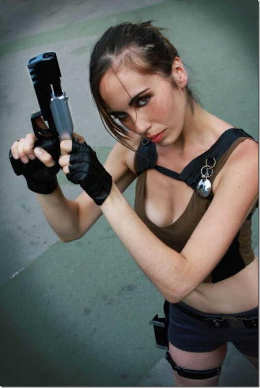 Os melhores cosplays de Lara Croft 17