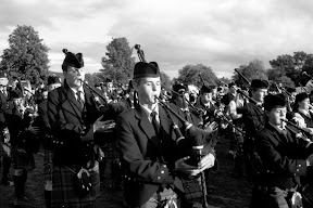 Highland Games in Pitlochry, Schottland, September 2010