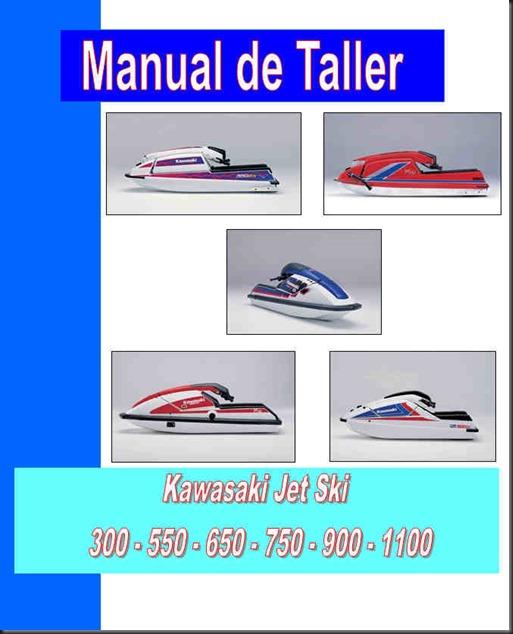 manual de taller kawaski jet ski 550 650 750 1100