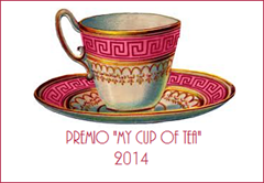 premio my cup of tea 2014