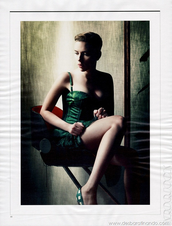 Scarlett Johansson - Interview Magazine December 2011/January 2012