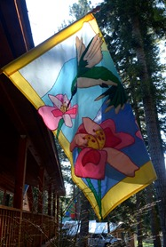 Finally time for the spring flags