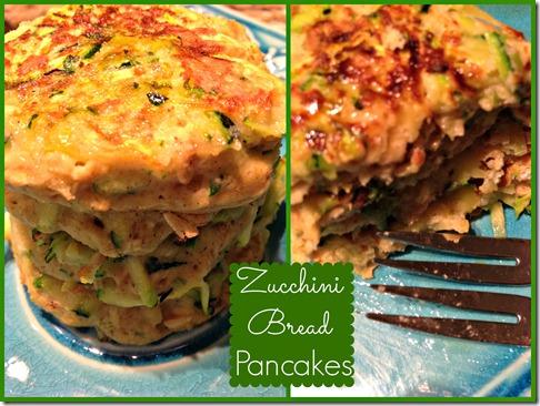 zucch bread pancakes