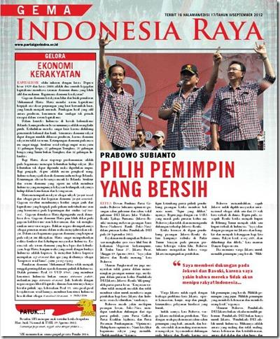 gema indonesia raya - pilih pemimpin yang bersih