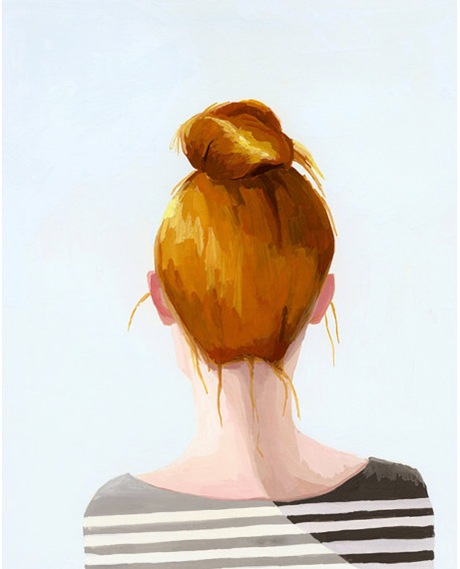 Bun Print by Elizabeth Mayville 4