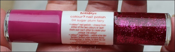 Essence Happy Holidays Nagellack Duo 04 Sugar Plum Fairy
