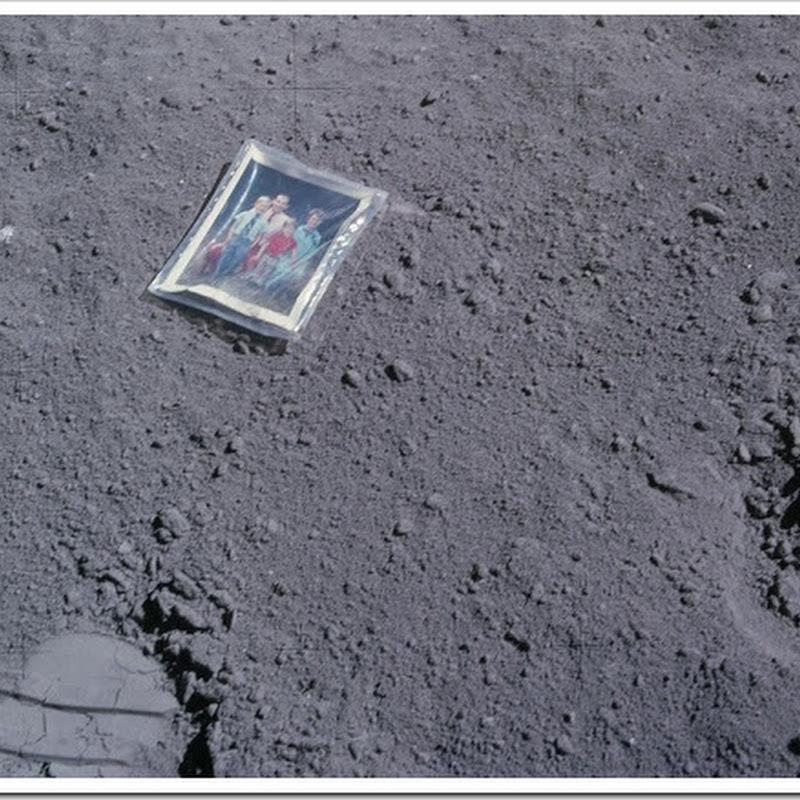 10 objetos deixados pelo homem na Lua