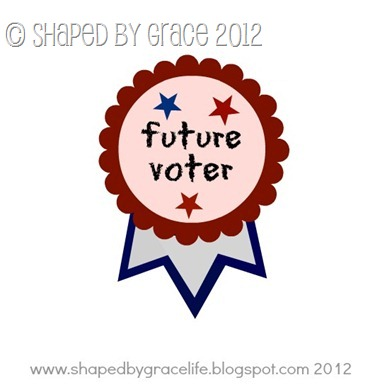 future voter pink pin