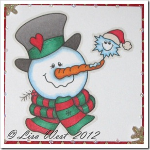 Frosty Friends Christmas Card (4)