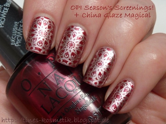OPI Season's Screenings Stamping 2
