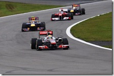 Hamilton vince il gran premio di Germania 2011
