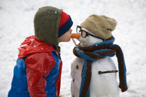 Петька и снеговик